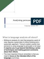 12 English Using Language to Persuade Intro