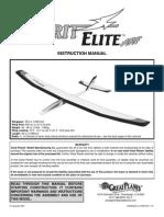Spirit Elite Manual