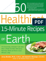 150 Healthiest 15-Minute Recipes on Earth, Jonny Bowden & Jeannette Bessinger, C.H.H.C