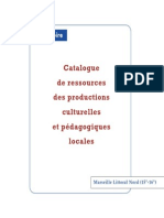 Catalogue Marseille littoral Nord