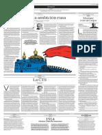 Ucrania y La Ambición Rusa
