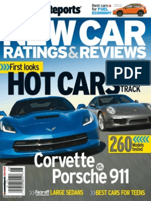Consumer Reports Car Reviews - June 2014 | Fuel Economy In