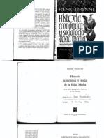 1. Henri Pirenne. Historia Economica y Social de La Edad Media (1 Parte)