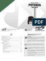 Manual Tecnico Potenza Analogica (Passo 20)