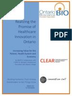 Innovation Adoption Report for Distribution