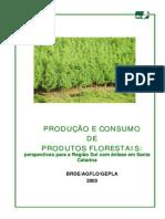Producao e Consumo de Produtos Florestais