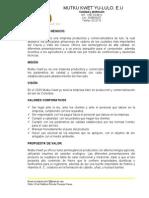 Cultivo de Lulo-propuesta Tecnica Creacion de Empresa
