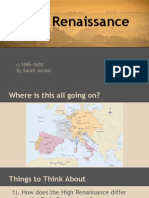 abbreviated high renaissance