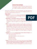 Estructura General de Las Tesis de GrADO