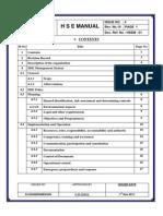 HSE Manual
