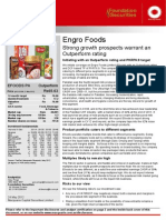 En Gro Foods  research  analysis