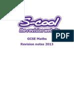 Maths (GCSE) Scool