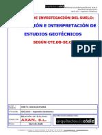3. Planificación de Estudios Geotécnicos Según El CTE. Contenido e Interpretación