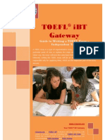 Guide to Writing a TOEFL Essay Independent Task