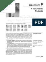A Volumetric Analysis