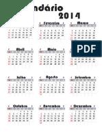 Calendário Escolar 2014 (2)