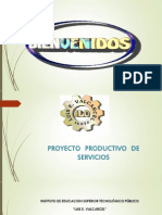 Proyecto Productivo Outsurcing