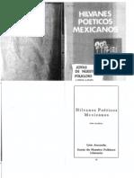 Hilvanes Poéticos Mexicanos