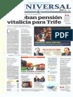 GradoCeroPress Portadas de Medios Impresos Nacionales Vier 16 May 2014