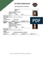 public arrest report for- 5162014