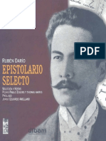 Rubén Darío. Epistolario selecto.