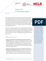 The Common Core Is an Opportunity for Education Equity