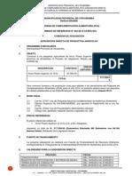 Terminos de Referencia Arroz II Conv.