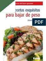 100 Recetas Exquisitas Para Bajar de Pes - Eduardo Casalins