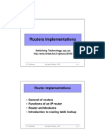 Routers Implementations