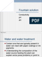 Fountain Solution in Offset