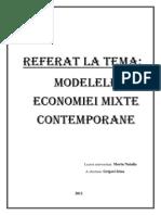 Modelele Economiei Mixte Contemporane
