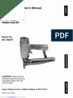 Craftsman 16 Ga Nailgun Manual