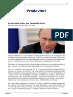 Mires, Fernando; La Doctrina Putin
