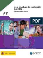 Marco de fundamentacipn de las areas PISA 2012 - España.pdf