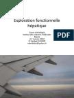 5Exploration fonctionnelle hépatique