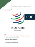 Omc Et Le Droit Fiscal