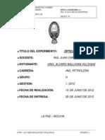 Info Fis200L (Optica Geometrica - I)