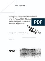 low spped aerodynamic characteristics of 13 percent thick medium speed.pdf