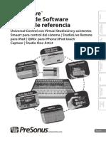 StudioLiveSoftware ReferenceManual ES