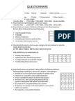 Management Accounting Questionnaire