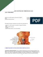 semiologie tiroida