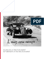 Citroen Dp 80 Ans de La Traction Avant Vfter