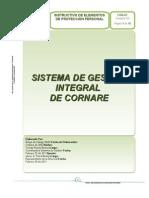 I-SG-21 Instructivo Elementos de Proteccion Personal V3