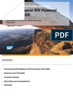 BW Powered by HANA Overview Sept 2013