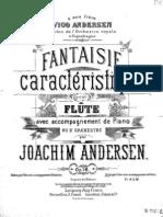Andersen Fantaisie Caracteristique.op16 PNO