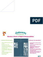 Gateway Rights & Responsibilities Charter