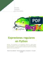 Expresiones regulares en Python
