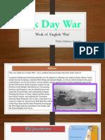 La Guerra de Los 6 Días
