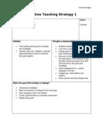 jauregui teaching strategy templates