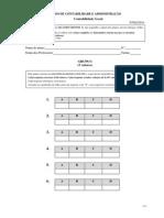 Exame de Recurso Contabilidade Geral